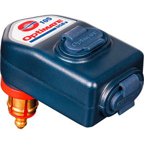 OptiMATE 90 Grad USB Adapter O-105 für 12 Volt DIN Steckdosen Motorrad
