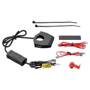 DAYTONA SLIM TYPE 2-Fach USB-Steckdose 12V-5V zur Lenkerbefestigung Daytona Corporation Motorrad