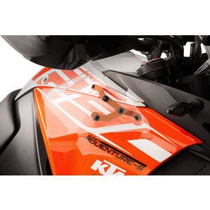 PUIG Mini Windabweiser Erhöht den Windschutz- schützt vor Regen Puig Motorrad