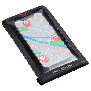 Smartphone-Drybag für MOLLE-Aufsatz Handys bis 6-5 Zoll- in schwarz SW-Motech Motorrad