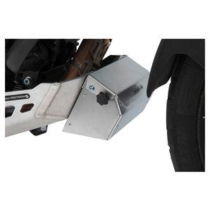 SW-Motech Werkzeugbox für Motorschutz 197 x 87 132 mm- Aluminium- in silbern Motorrad