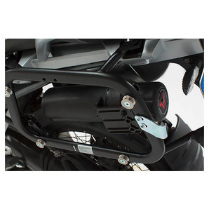 Werkzeugbox für Seitenträger Inkl- Anbaukit- Schwarz SW-Motech Motorrad