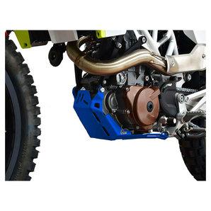 Zieger Motorschutz in blau für diverse Modelle- Aluminium Motorrad
