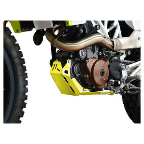 Zieger Motorschutz in gelb für diverse Modelle- Aluminium Motorrad