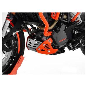 Zieger Motorschutz in schwarz-orange für diverse Modelle Motorrad