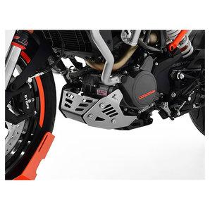 Zieger Motorschutz- in schwarz-silber für diverse Modelle Motorrad