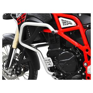 Zieger Sturzbügel in silber für diverse Modelle Motorrad