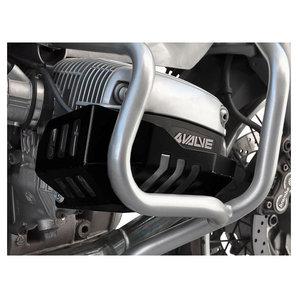 Zieger Zylinderschutz in schwarz für diverse Modelle- Aluminium Motorrad