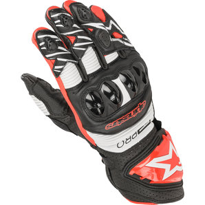 Alpinestars GP Pro R3 Handschuhe Schwarz Weiss Rot alpinestars Motorrad