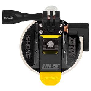iSHOXS M1 GT 3D-360 Grad Kugelaufnahme Schwarz Motorrad