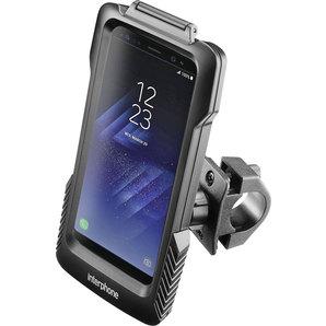 Samsung Galaxy S8+-S10+ Gehäuse für Rundrohrlenk- Interphone Motorrad