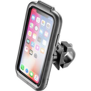 iPhone X Gehäuse für Rohrlenker (Rundrohr) Interphone Motorrad