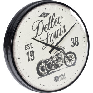 wanduhr louis 80 edition kaufen louis motorrad feizeit. Black Bedroom Furniture Sets. Home Design Ideas