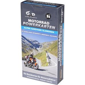 Karten für Alpen und Gardasee Motorrad