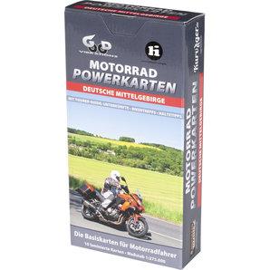 Karten für deutsche Mittelgebirge Motorrad