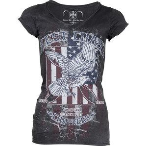 Ladies Shirt Eagle Gr.m Anthrazit Vintage Grau