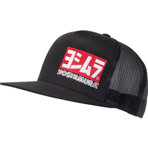 e02bee00124 Buy Yoshimura Snapback Mesh Cap One Size Black