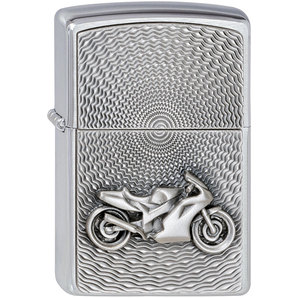 buy original zippo bike chrome brushed louis motorcycle leisure