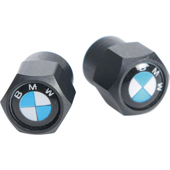 VALVE CAPS W. BMW-EMBLEM