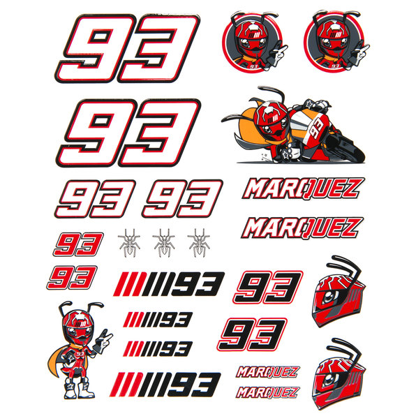M.MARQUEZ STICKER-SET