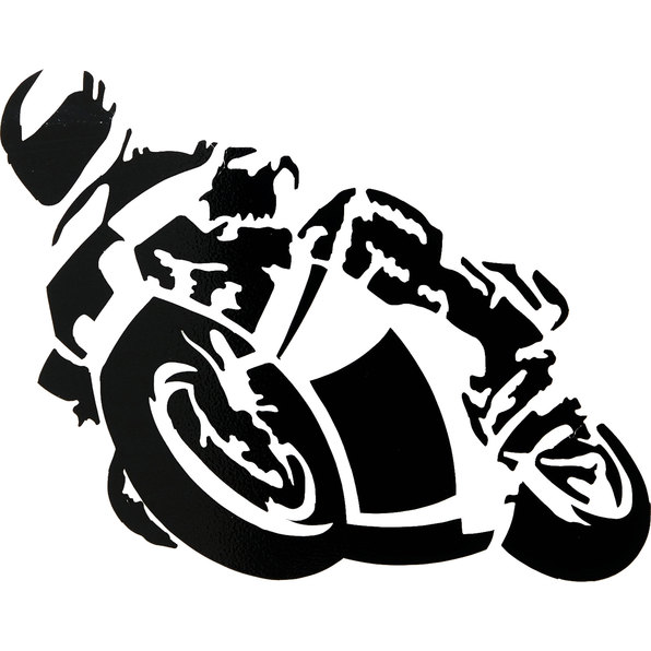 MINI MOTORCYCLE STICKER