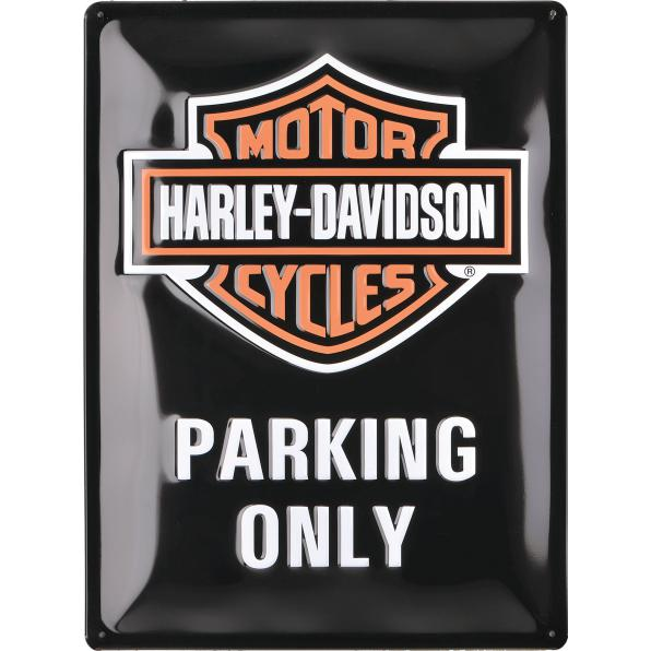 BLECHSCHILD H-D PARKING