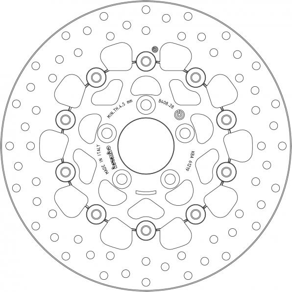 BREMBO BRAKE-DISCS