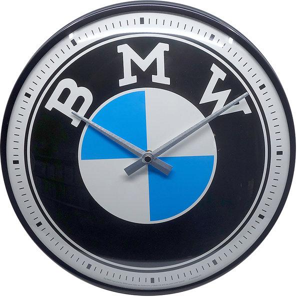 WALLCLOCK BMW LOGO