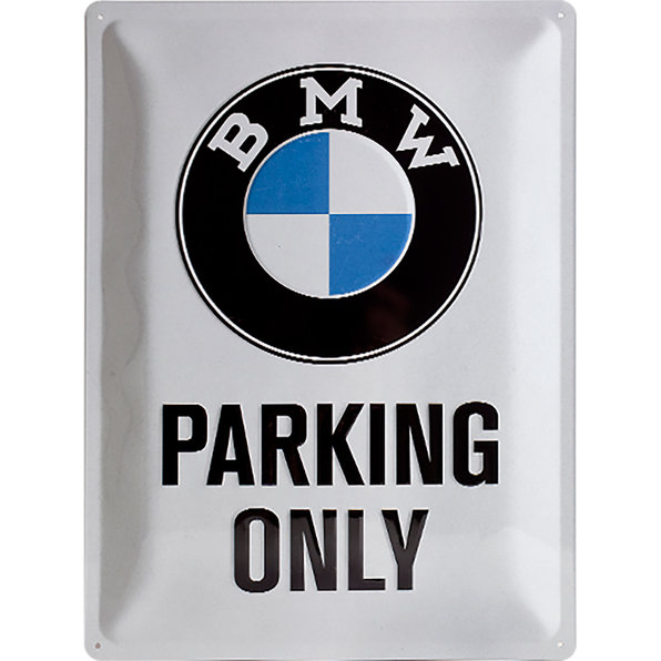 BLECHSCHILD *BMW PARKING
