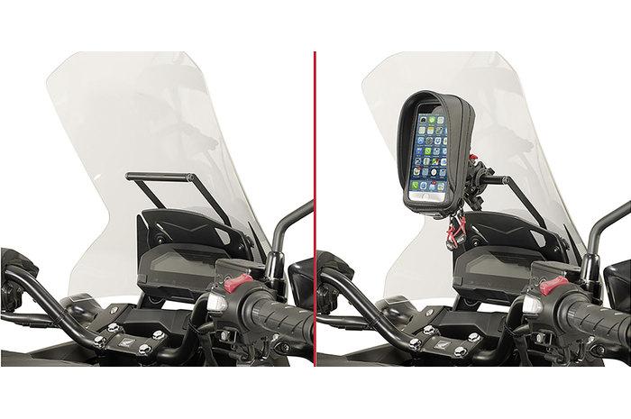 halterung navigationssystem f r piaggio mp3 motorrad. Black Bedroom Furniture Sets. Home Design Ideas