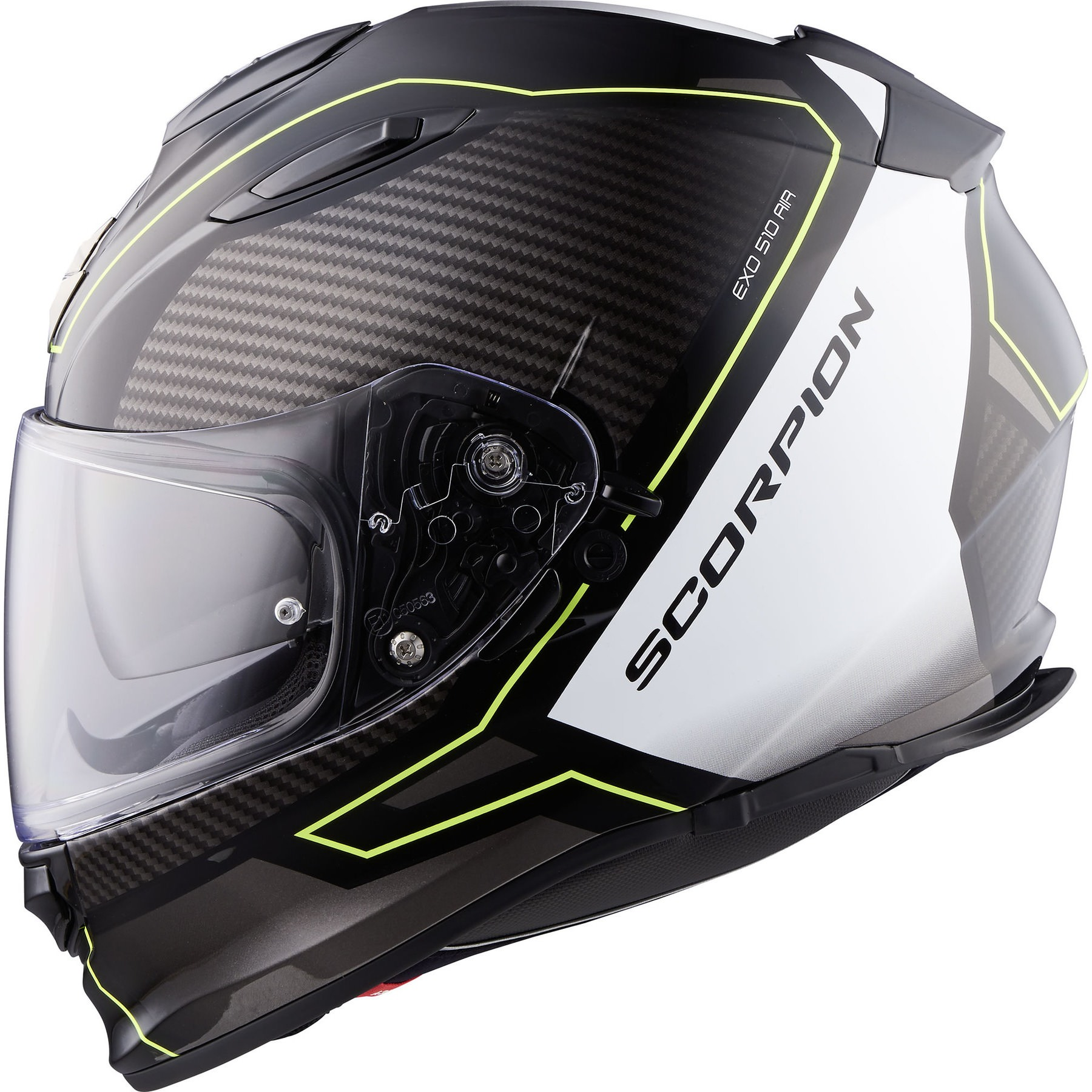 White Scorpion EXO-510 AIR Motorcycle Helmet Size XL