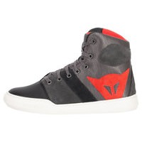 DAINESE YORK AIR SIZE 45 BOOT, GREY/RED