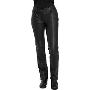 Fashion Ladies' Leather Jeans