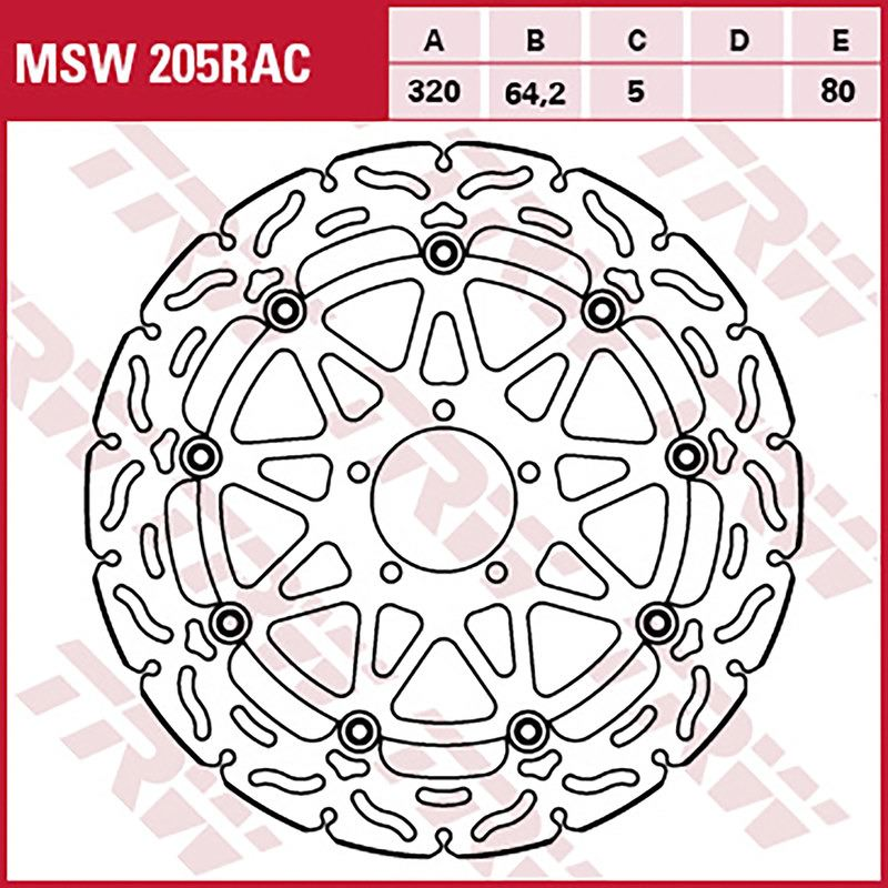 TRW BRAKE-DISCS *RACING