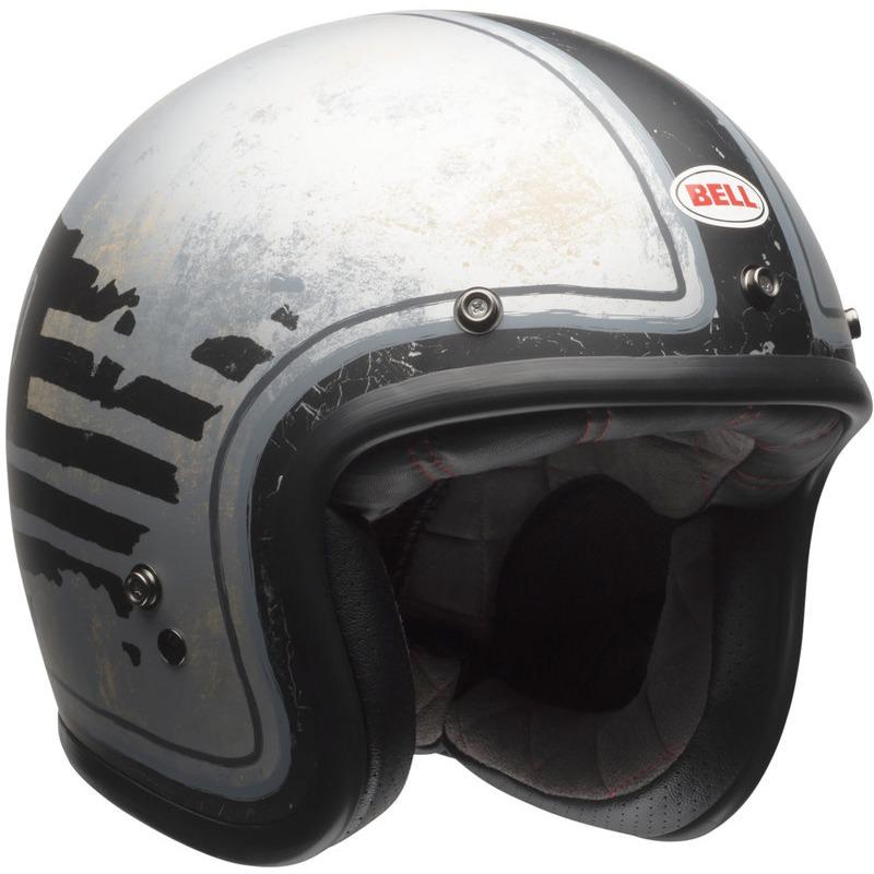 BELL Helmet custom 500 dlx special edition rsd 74 black//silver s