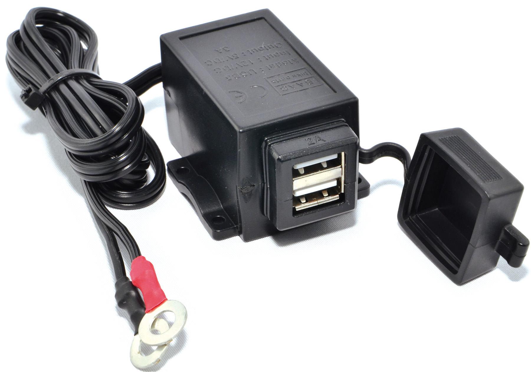 BAAS USB5, podwójne gniazdo USB
