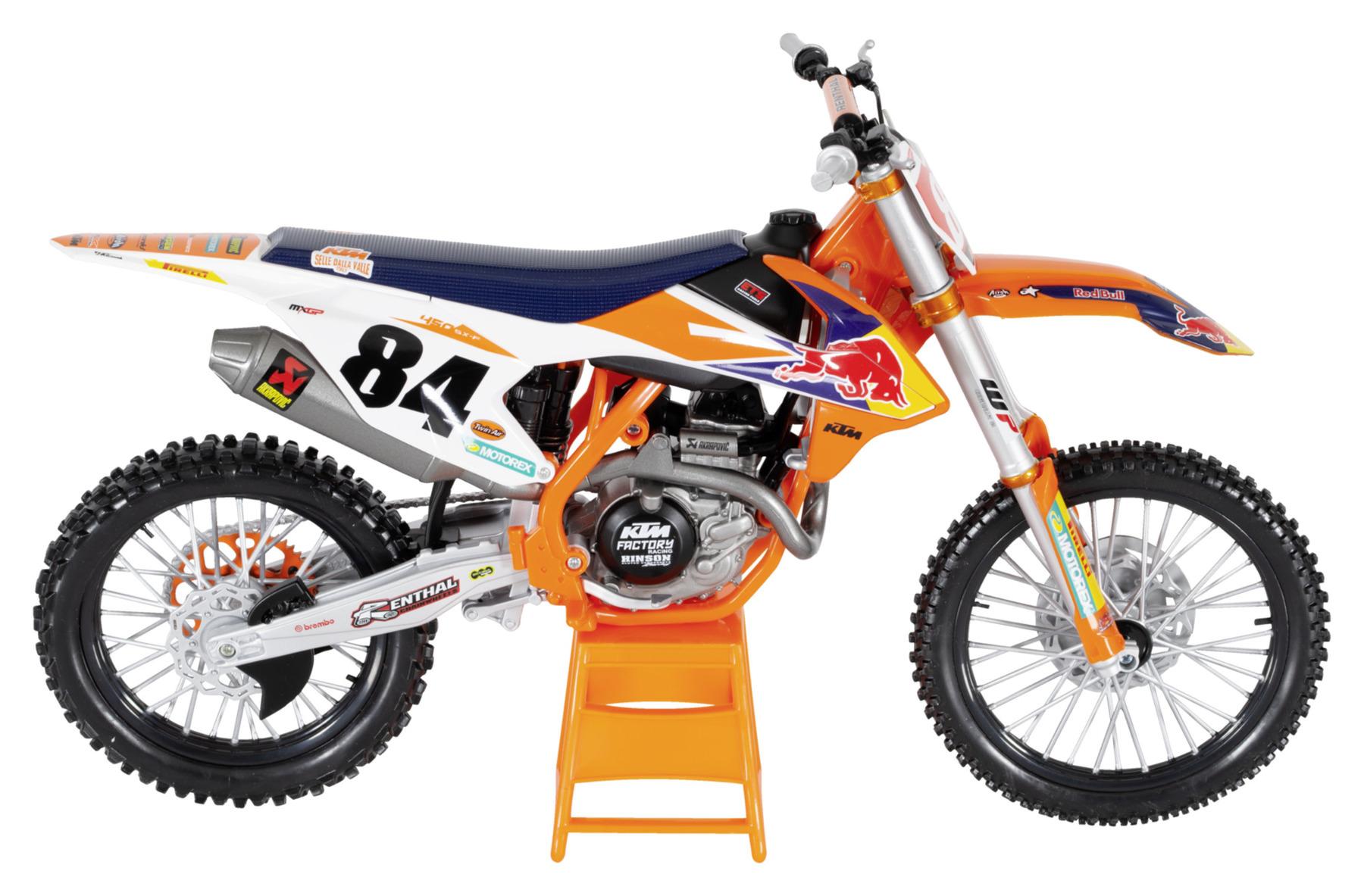 Compra Modellino Ktm Sx F 450 Scala 1 6 Louis Moto Abbigliamento E Attrezzatura Tecnica