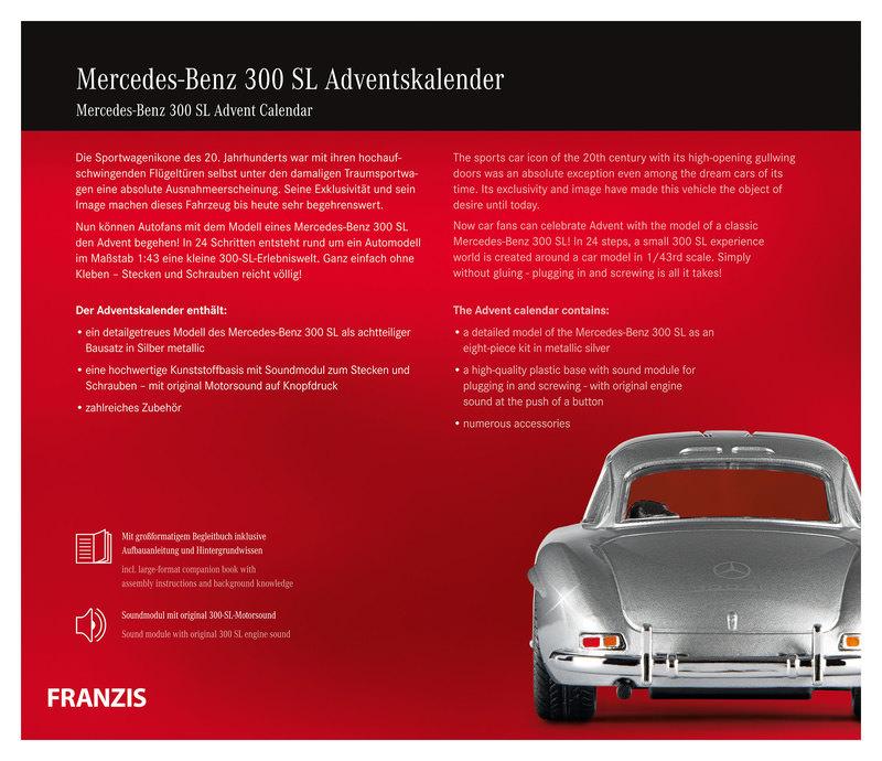 FRANZIS MERCEDES 300 SL