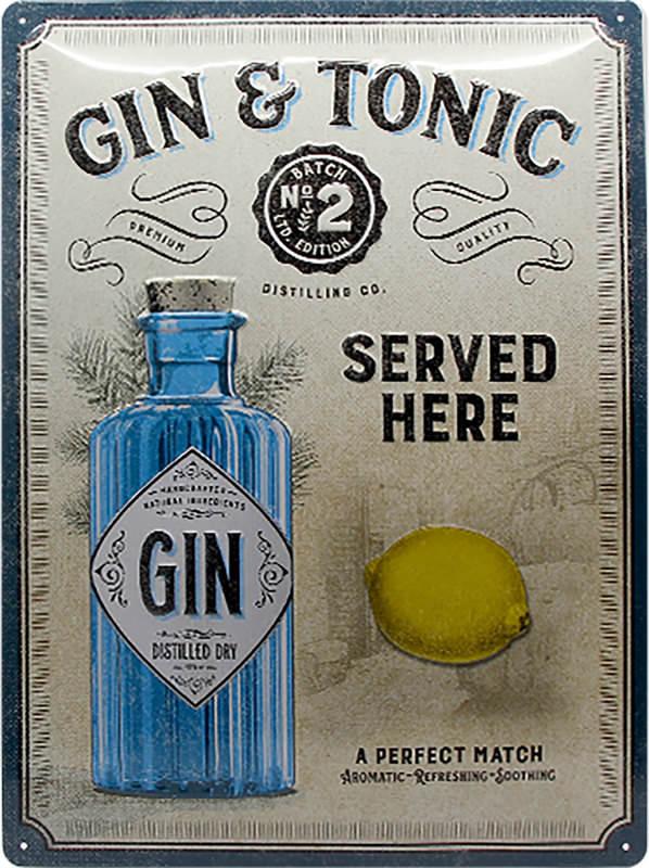 BLECHSCHILD GIN&TONIC