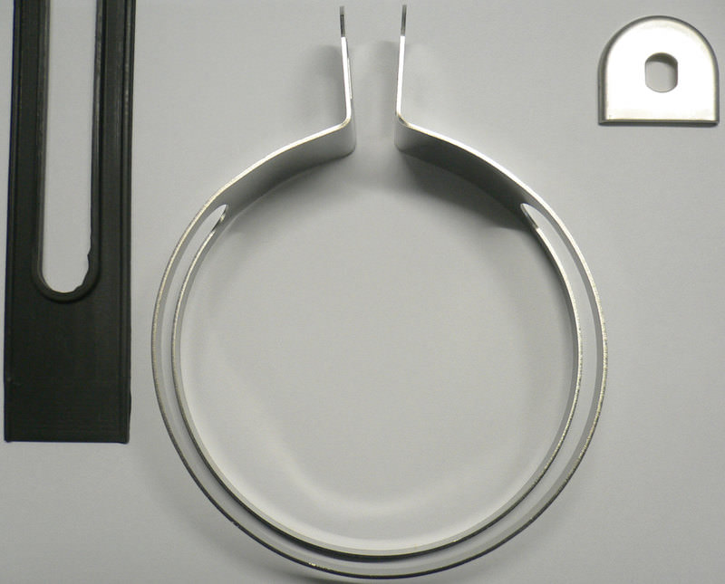 STAINLESS STEEL EXH CLAMP