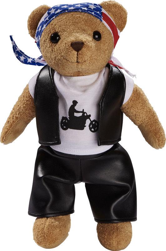 BIKER TEDDY