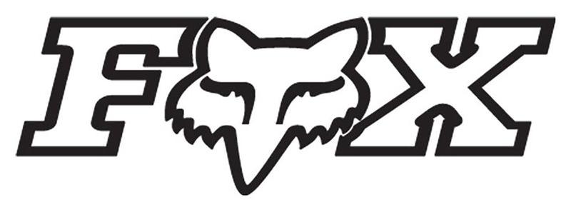 FOX HEAD X TDC AUFKLEBER