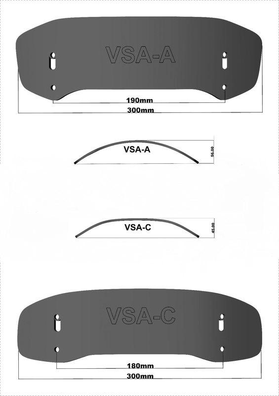 MRA VARIO-SPOILER VSA-C