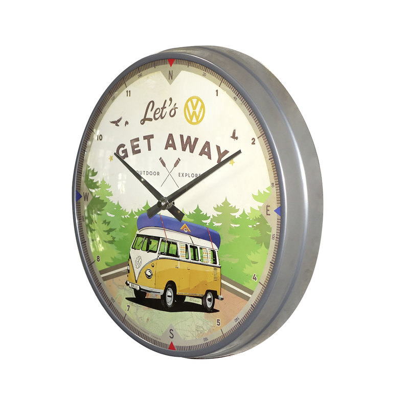 WALLCLOCK VW BUS