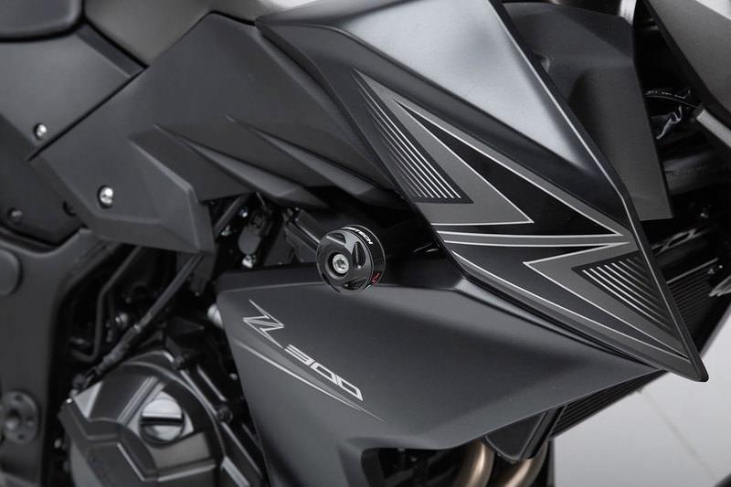 DER Hohe Qualit/ät Universal-8mm Motorrad Sturzpads M8 Fallen Sturzpad Rod Motorrad Anti-Fallen Motorschutz-Stock-Bar Motorr/äder Color : Black