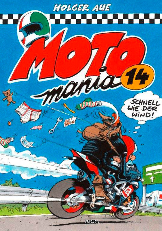 BOOK: MOTOMANIA COMIC 14