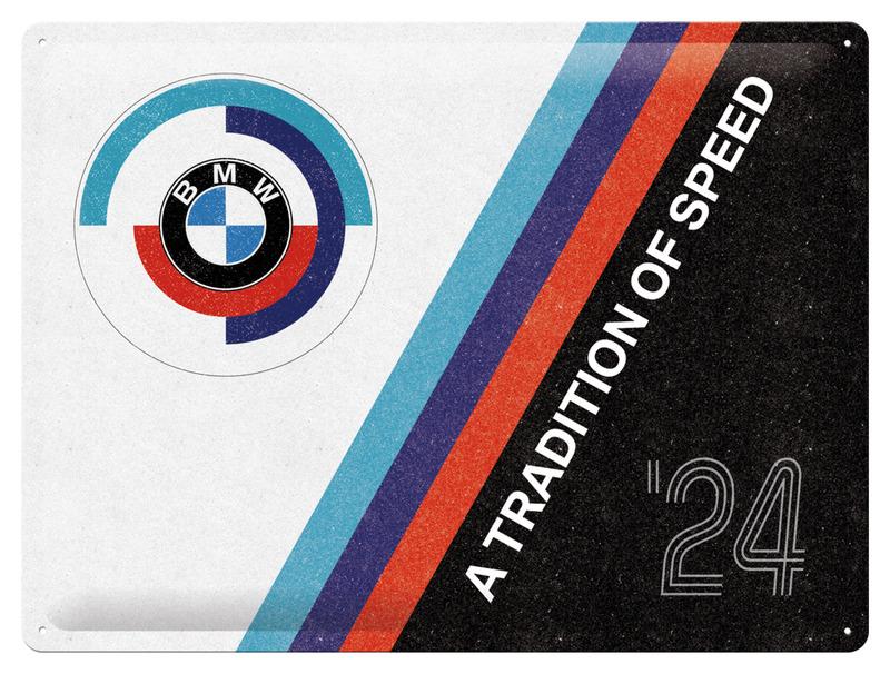 BLECHSCHILD BMW TRADITION