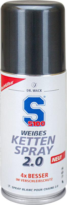 S100 Weißes Kettenspray