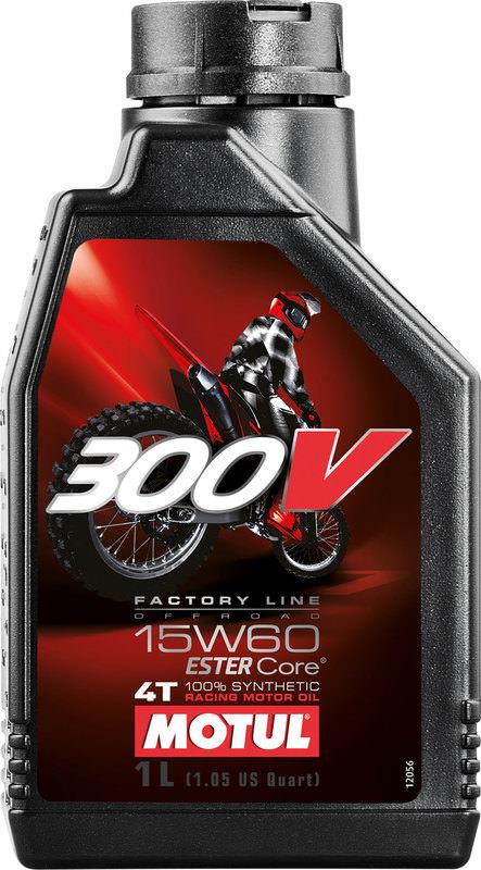 MOTUL 300V 4T FL 15W-60