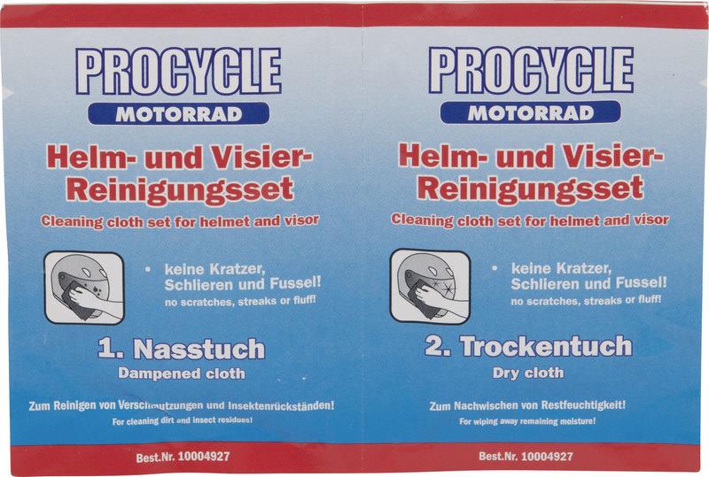 PROCYCLE HELM- U. VISIER-